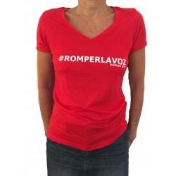 "Tee Shirt ""Romper la Voz"" Madrid"