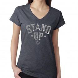 TEE-SHIRT STAND UP modèle femme